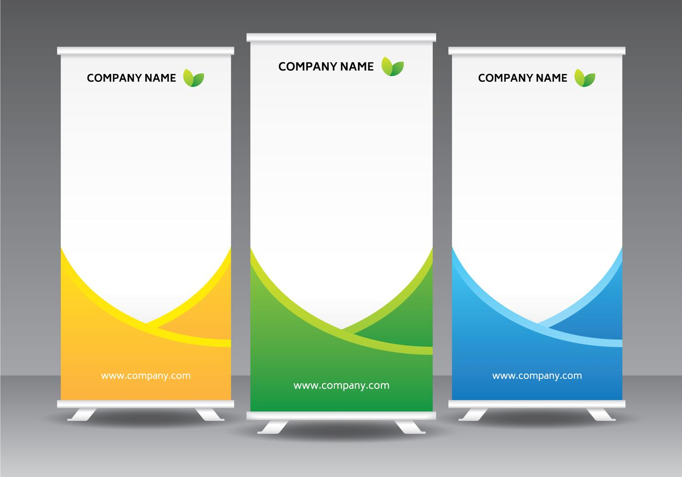 Presentatiewanden – roll up banners – mobiele presentatie systemen